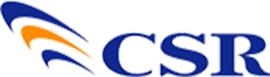 CSR(シーエスアール)のロゴ